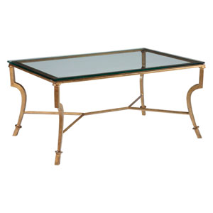 Metal Designs Renaissance Syrah Small Rectangular Cocktail Table