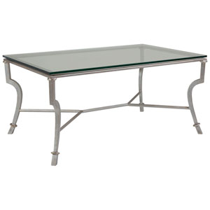Metal Designs Argento Syrah Small Rectangular Cocktail Table