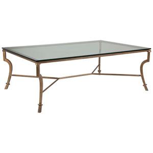 Metal Designs Renaissance Syrah Large Rectangular Cocktail Table