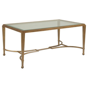 Metal Designs Renaissance Sangiovese Small Rectangular Cocktail Table