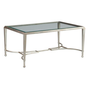 Metal Designs Argento Sangiovese Small Rectangular Cocktail Table