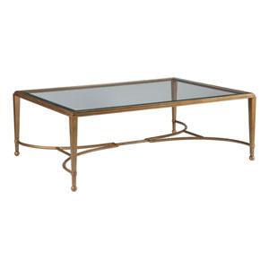 Metal Designs Renaissance Sangiovese Large Rectangular Cocktail Table