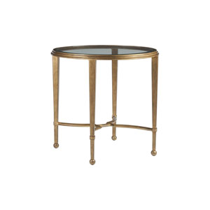 Metal Designs Renaissance Sangiovese Round End Table