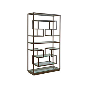 Metal Designs Antique Copper Holden Etagere