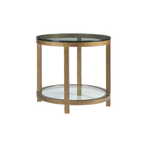 Metal Designs Renaissance Per Se Round End Table