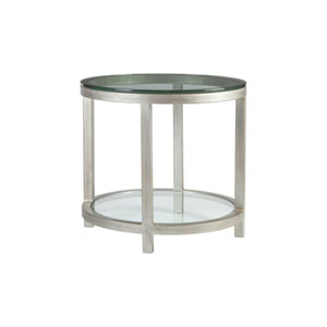 Metal Designs Argento Per Se Round End Table