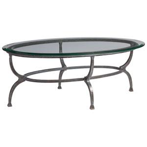 Metal Designs St. Laurent Patois Oval Cocktail Table