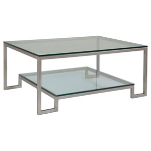 Metal Designs Argento Bonaire Rectangular Cocktail Table
