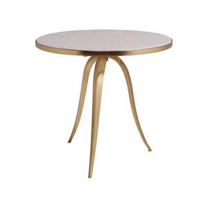Signature Designs Renaissance Crystal Stone Round End Table