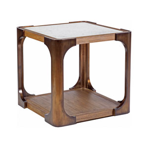 Signature Designs Brown Tuco Square End Table