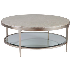 Signature Designs Champagne Gravitas Round Cocktail Table