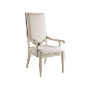 Cohesion Program Bianco Beauvoir Upholstered Arm Chair