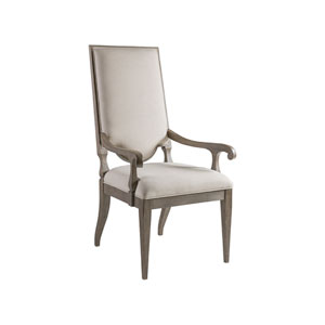 Cohesion Program Grigio Beauvoir Upholstered Arm Chair