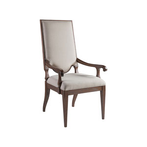 Cohesion Program Marrone Beauvoir Upholstered Arm Chair