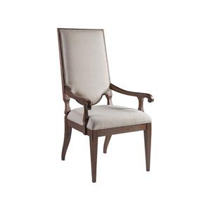 Cohesion Program Marrone Beauvoir Upholstered Arm Chair