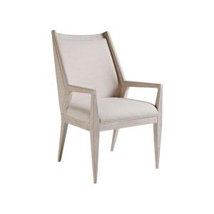 Cohesion Program Bianco Haiku Arm Chair