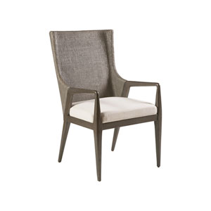 Signature Designs Metallic Gray Formosa Arm Chair