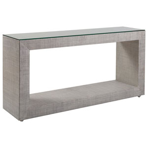 Signature Designs Light Gray Precept Console