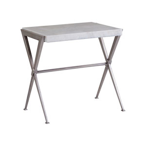 Signature Designs Light Gray Onyx Greta Rectangular End Table