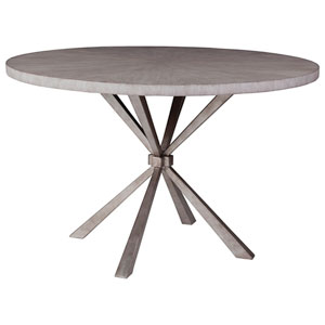 Signature Designs Light Gray Iteration Round Dining Table