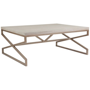 Cohesion Program Bianco Edict Rectangular Cocktail Table