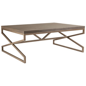 Cohesion Program Grigio Edict Rectangular Cocktail Table