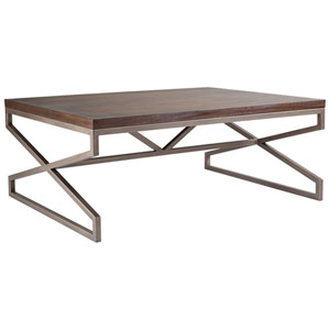 Cohesion Program Marrone Edict Rectangular Cocktail Table