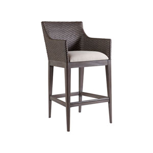 Signature Designs Mahogany and White Cadence Barstool