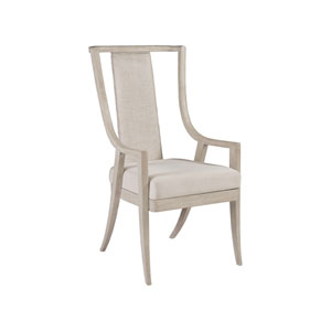 Cohesion Program Bianco Mistral Woven Arm Chair