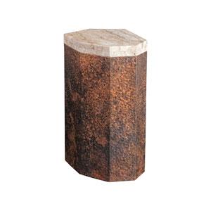 Signature Designs Hammered Copper Estes Small Spot Table
