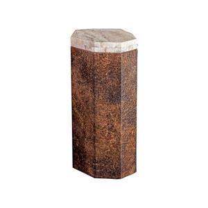Signature Designs Hammered Copper Estes Medium Spot Table