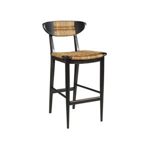 Signature Designs Black and Brown Viggo Barstool