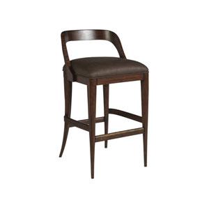 Signature Designs Walnut Beale Low Back Barstool