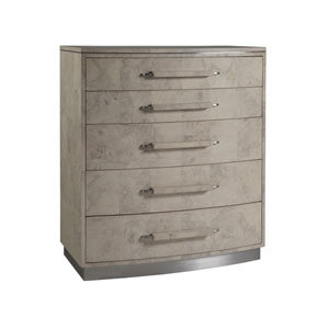 Signature Designs Gray Felicity Tall Chest