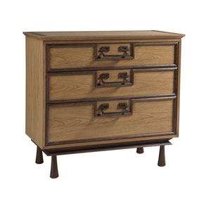 Signature Designs Honey and Walnut Bushido Hall Chest