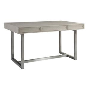Signature Designs White Gray and Antique Silver Gradient Bistro Table