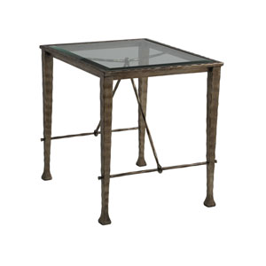 Signature Designs Bronze Cortona Rectangular End Table