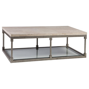 Signature Designs Silver Leaf Topa Rectangle Cocktail Table