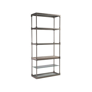Signature Designs Silver Leaf Topa Etagere