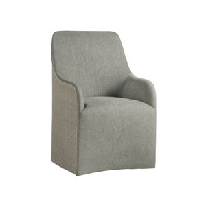 Signature Designs Gray Riley Woven Arm Chair