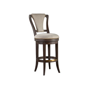 Signature Designs Dark Oak Verbatim Swivel Bar Stool