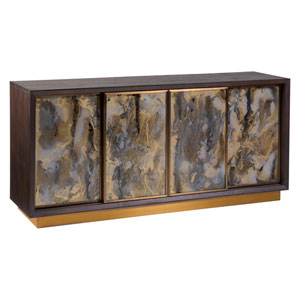 Signature Designs Dark Oak Verbatim Media Console