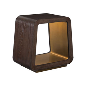 Signature Designs Dark Oak Verbatim End Table