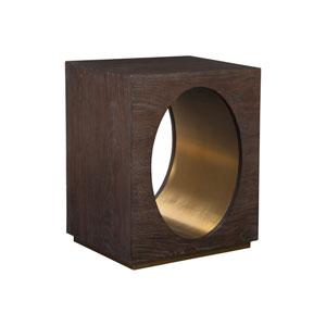 Signature Designs Dark Oak Verbatim Square End Table