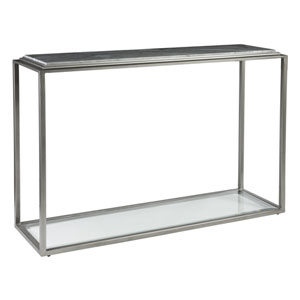 Signature Designs Antique Silver Treville Console Table