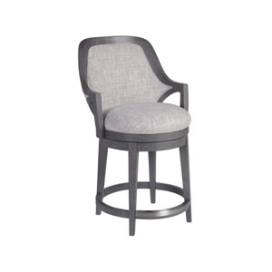 Signature Designs Gray Appellation Swivel Counter Stool