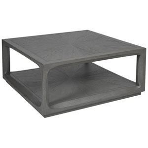 Signature Designs Gray Appellation Square Cocktail Table