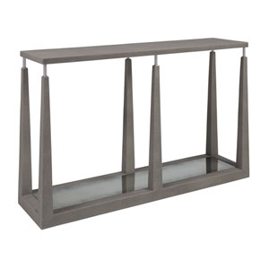 Signature Designs Warm Gray Ascension Console Table
