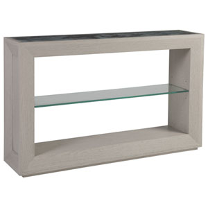 Signature Designs Gray Metaphor Console Table