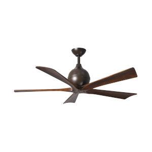 Irene  42-Inch Ceiling Fan with Five Walnut Tone Blades
